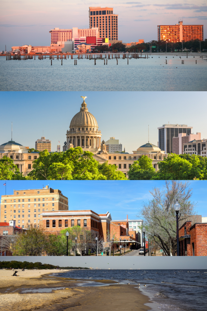 Cheap rates, budget travel in Mississippi enjoy casinos, fishing, beaches
