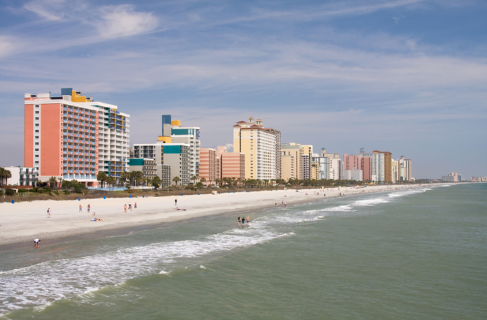 Win free airfare & oceanfront hotel accommodations in Myrtle Beach, SC