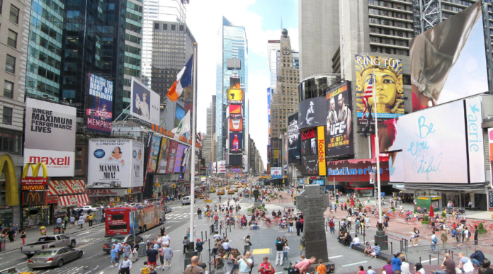 Discount price for Times Square and Midtown Sites Guided Tour