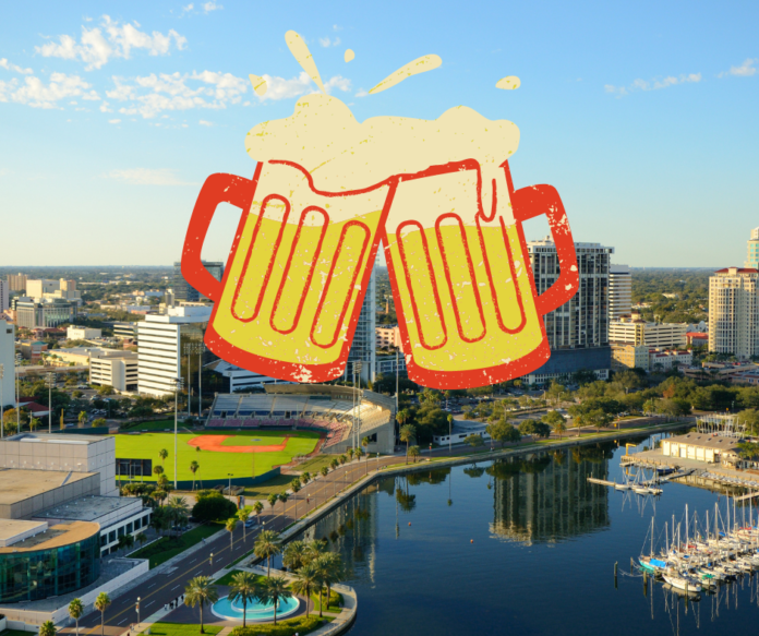 Discount ticket for Tampa, Florida craft beer festival at Tropicana Field in St. Petersburg, FL