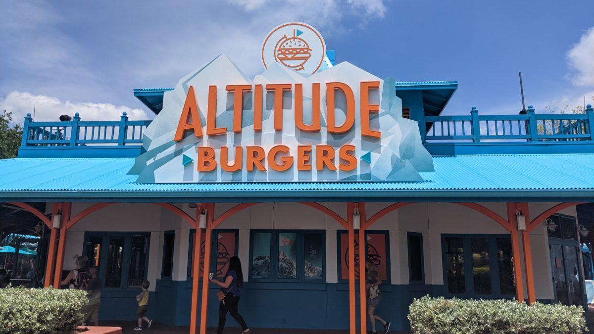 Altitude Burgers Seaworld Orlando Restaurant