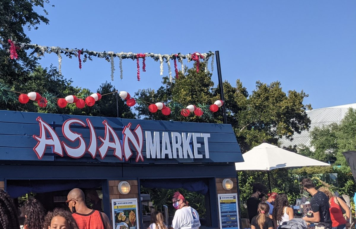 A picture of the Asian Market at SeaWorld's Seven Seas Food Festival