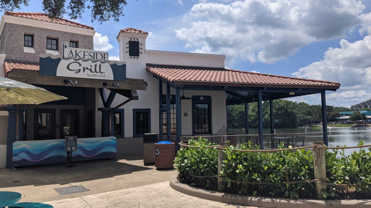 Lakeside Grill SeaWorld Restaurant in Orlando Florida