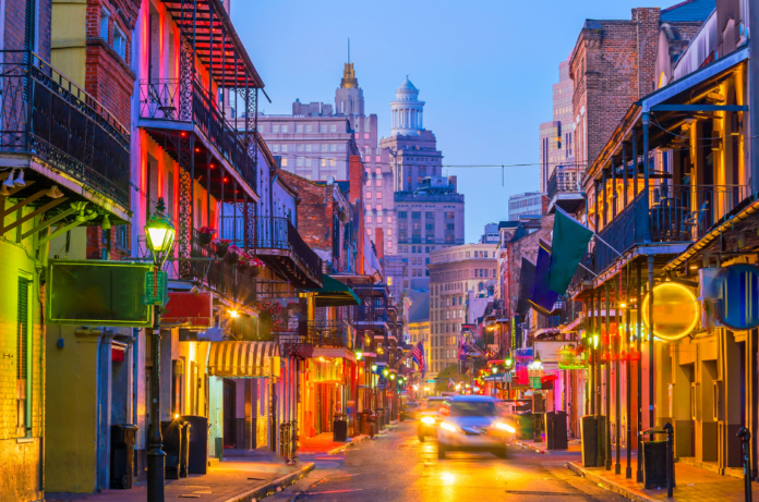 New Orleans, LA hotels under $100/night