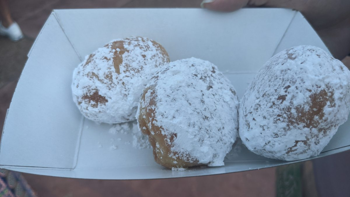 Beignets are available at the Gulf Coast Market at SeaWorld Orlando's Seven Seas Food Festival