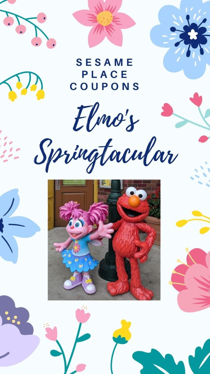 How to get discounted tickets to Elmo's Spectacular at Sesame Place theme park in Pennsylvania