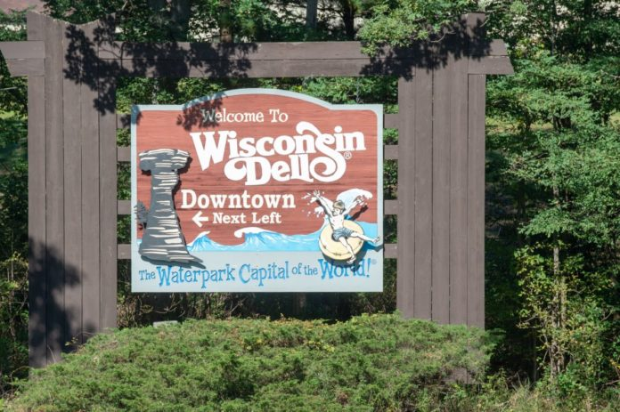 Learn about Wisconsin Dells' history and see famous landmarks on a trolley tour with a discount price