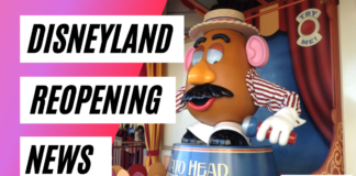 Disneyland Reopening News for California theme parks