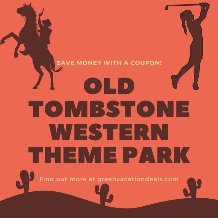 Coupon, promo code for Old Tombstone Western Theme Park in Tombstone, AZ
