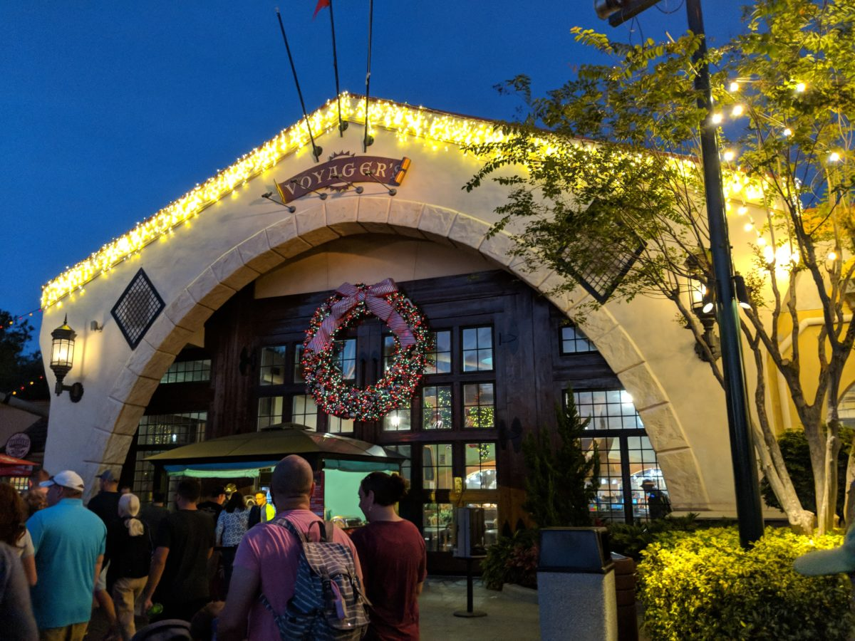 Voyager's Smokehouse at Seaworld Orlando Theme Park