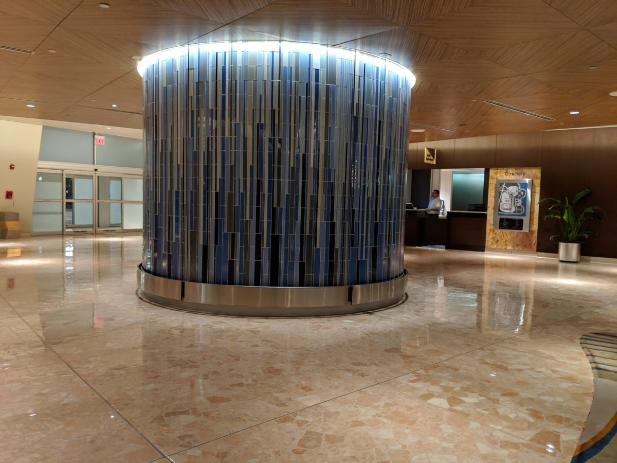 A picture of the lobby at Contemporary hotel at Walt Disney World Resort