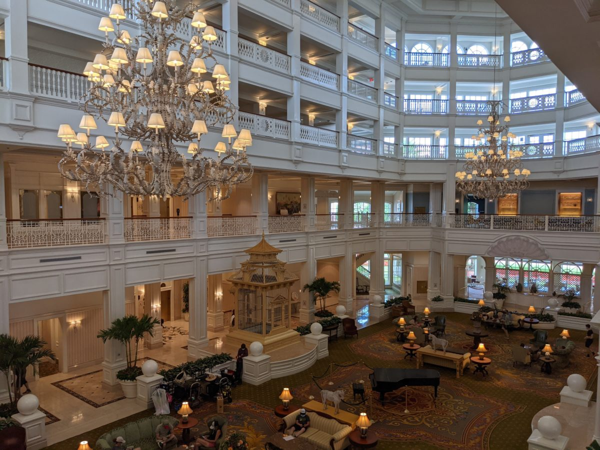 Grand Floridian Resort & Spa is the most luxurious hotel at Walt Disney World in Orlando