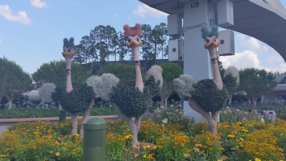 Topiaries are my favorite part of Taste of Epcot's International Flower & Garden Festival at the Walt Disney World Resort