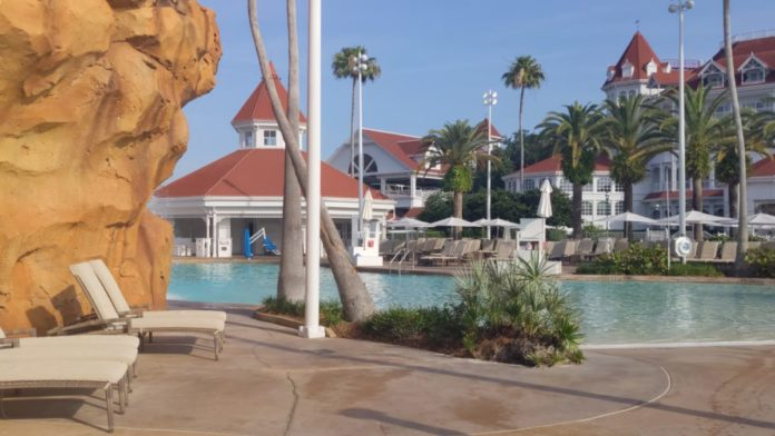 Disney's Grand Floridian hotel has a great onsite pool