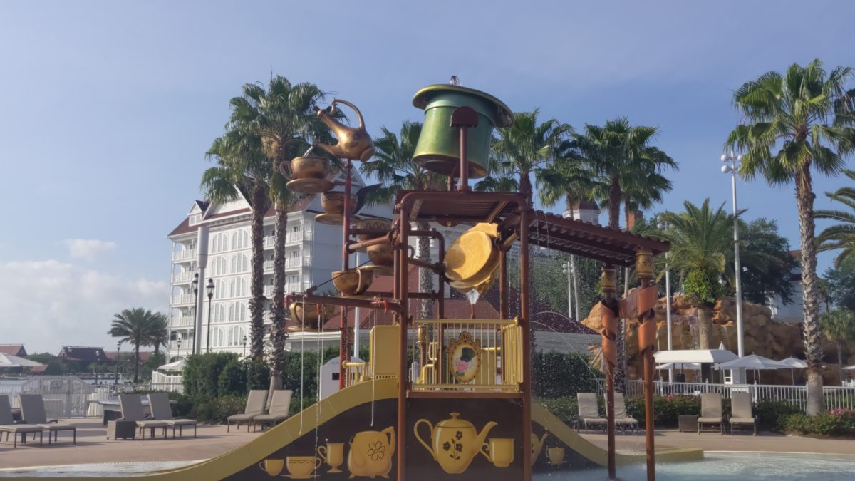 Disney's Grand Floridian in Orlando, FL has a great pool & other amenities from kids & adults