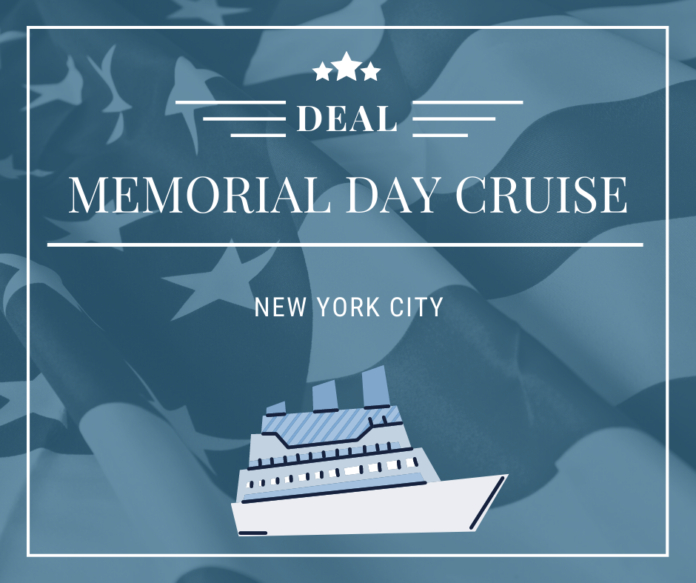 Discount price for Memorial Day weekend yacht party in New York City