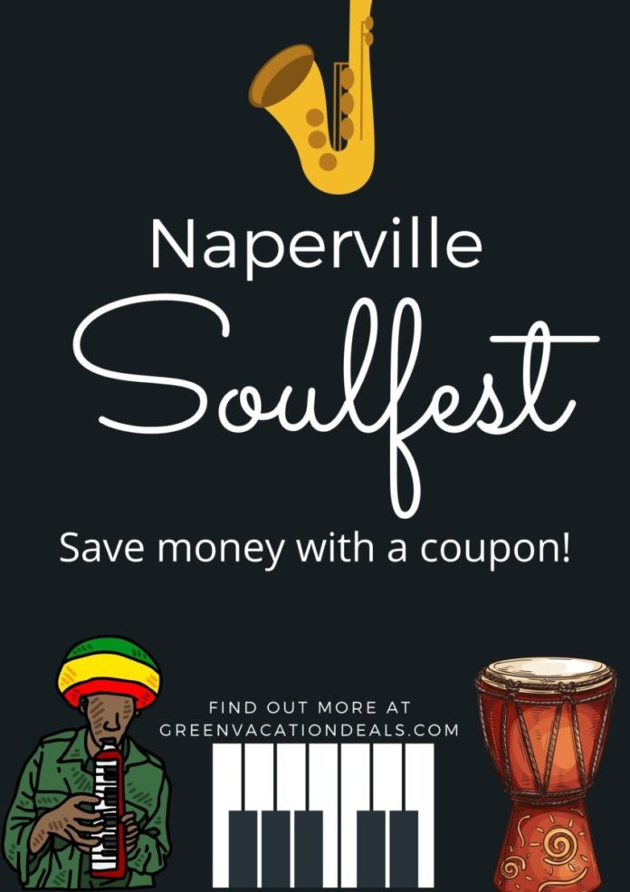 Discount price for Soulfest in Naperville, Illinois, a music festival celebrating Chicago's African & Caribbean influences