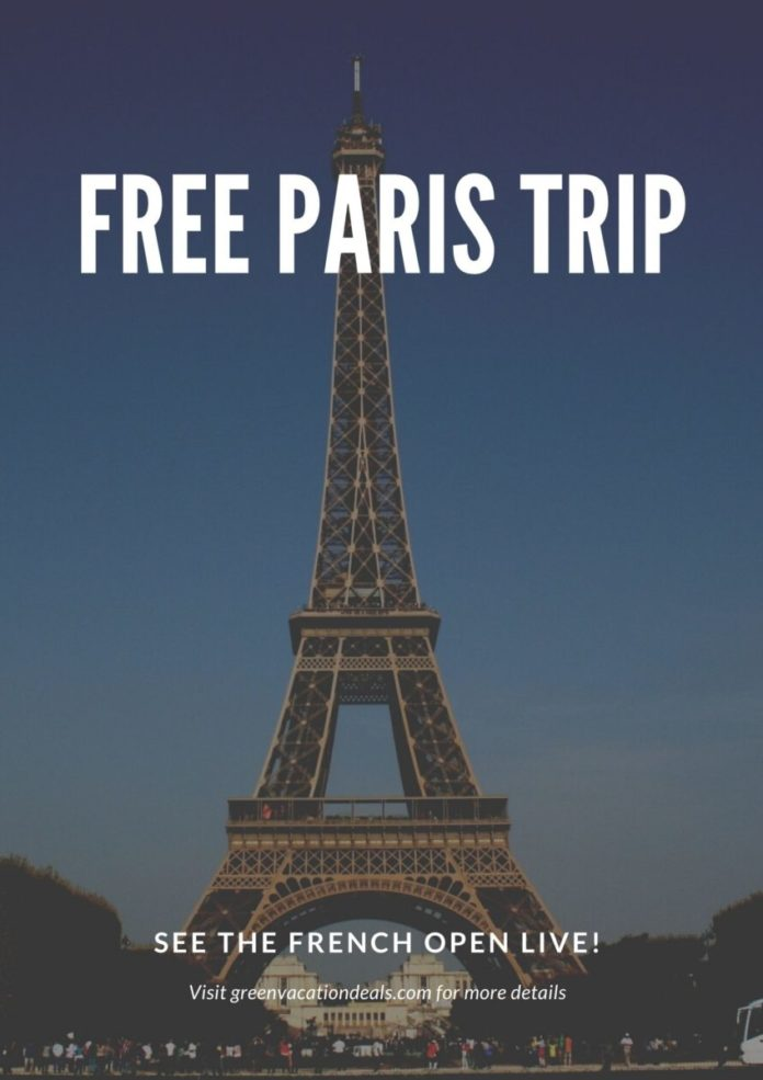 Enter Valpak -Win A Trip To Paris Sweepstakes for a free vacation