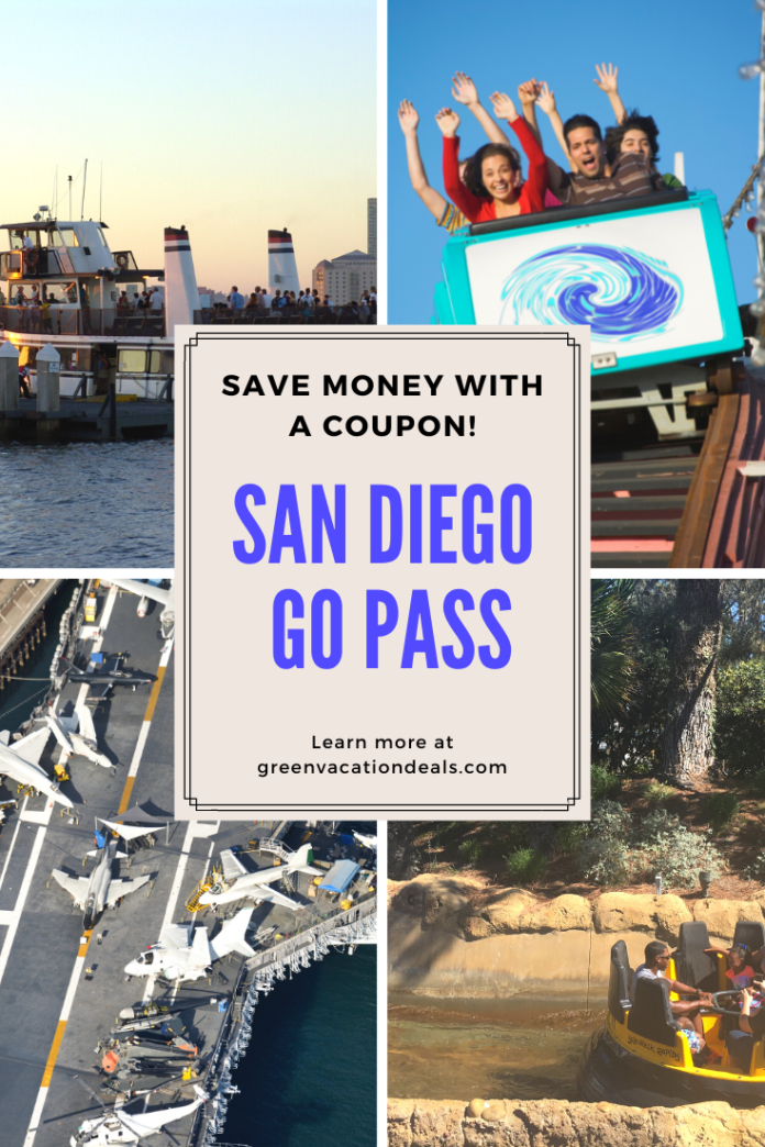Discounted adult & children's tickets for San Diego Pass Southern California attractins