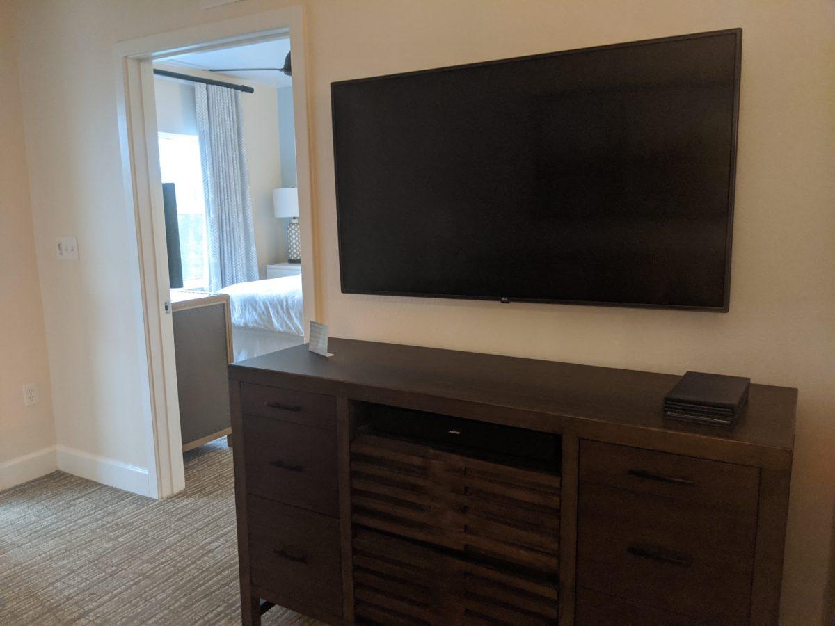 Sheraton Vistana Village Resort has spacious suites with huge TVs