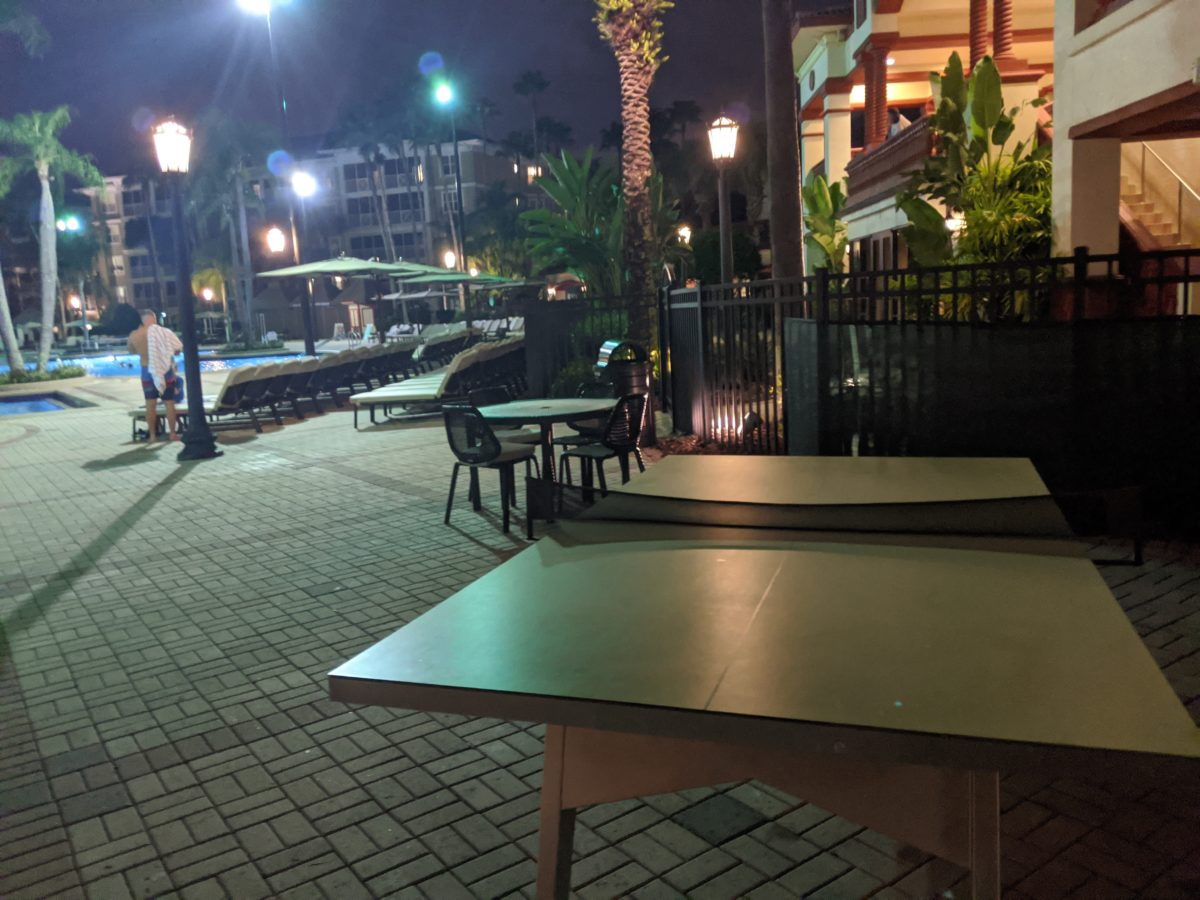 Play table tennis with your kids, other adults when you're not at the Orlando theme parks when staying at Sheraton Vistana Resort