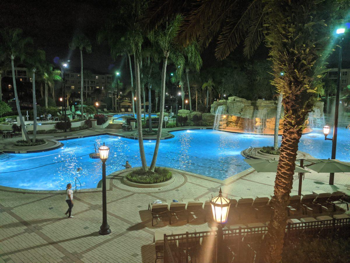 One of the pools at Sheraton Vistana Resort in Orlando I-Drive