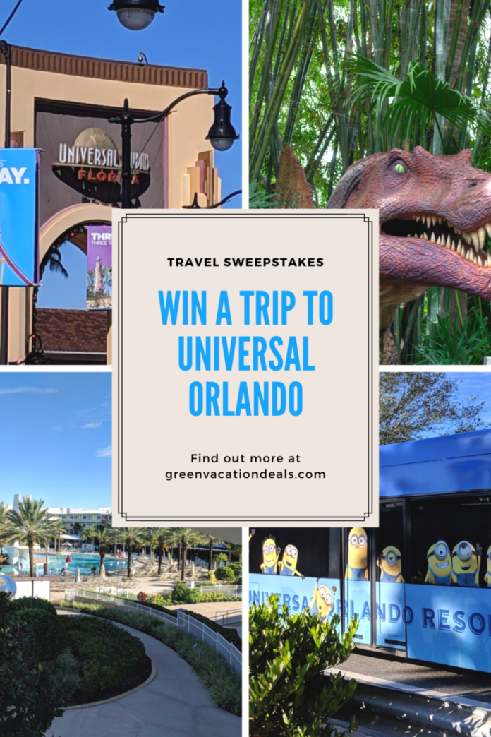 Enter USA & SYFY - Win A Trip To Universal Orlando 2021 Sweepstakes for a free vacation in Florida includes airfare for 4, hotel stay, theme park admission tickets