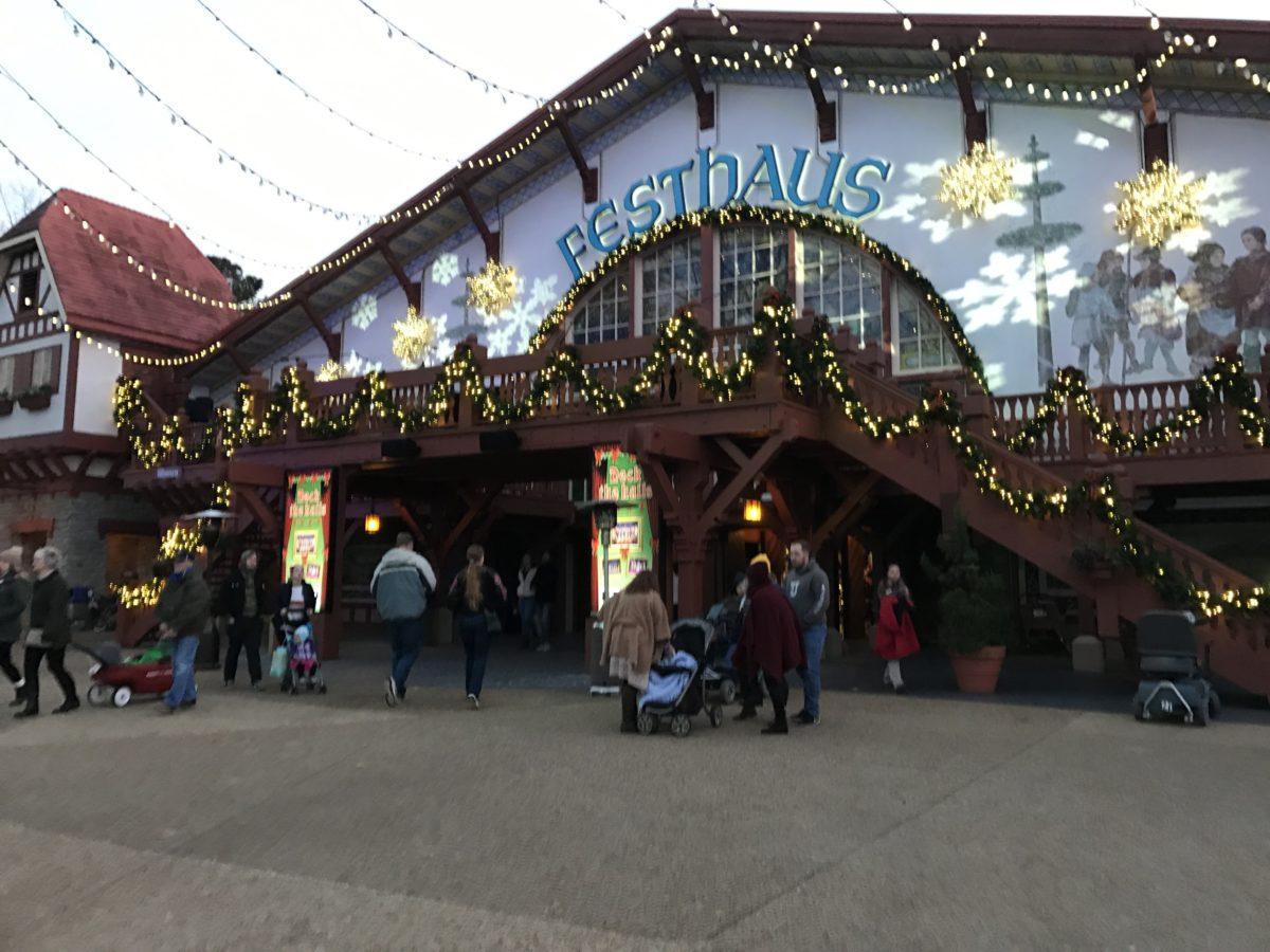 Das Festhaus Restaurant in Busch Gardens Williamsburg