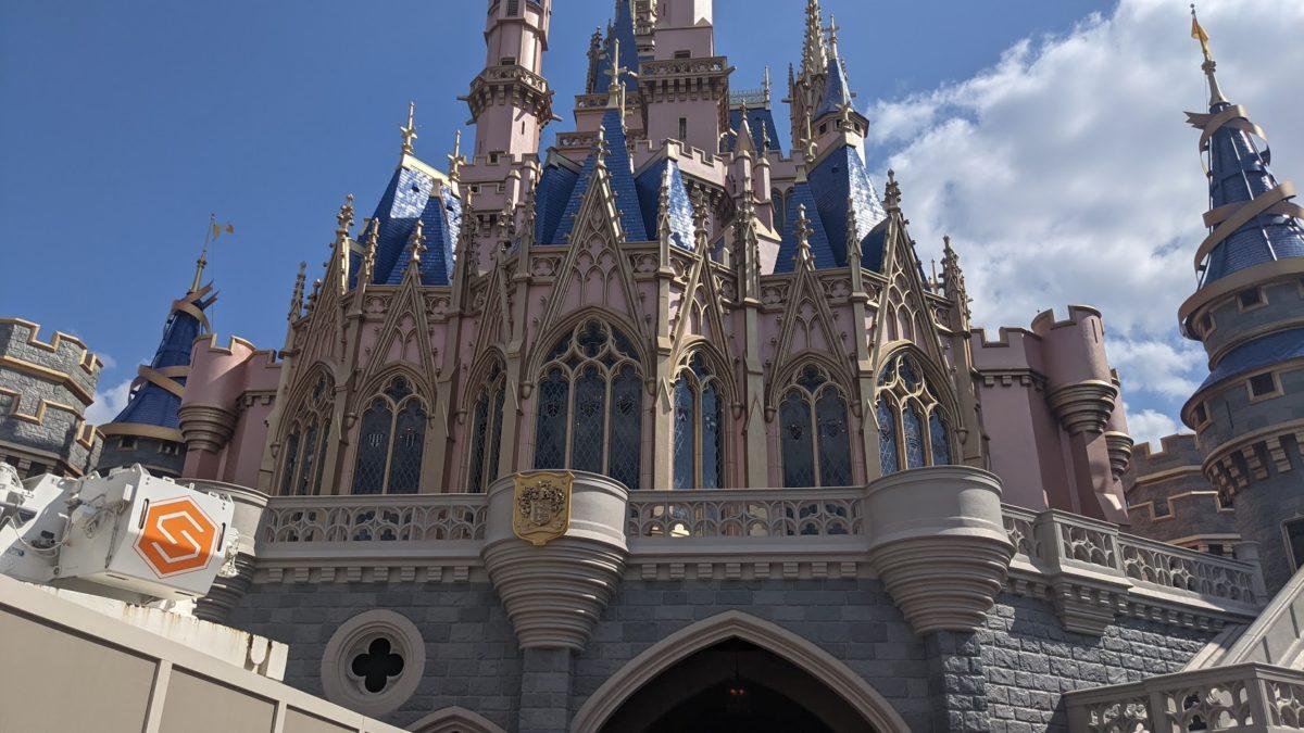 Walt Disney World Resort's Magic Kingdom's Cinderella Castle got a new look in 2021