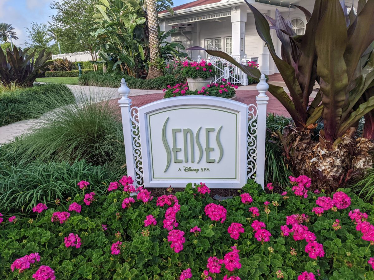 Grand Floridian Resort & Spa is one of the few Disney World hotels that has a full-service spa & salon