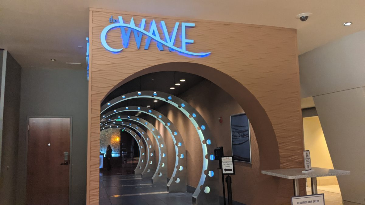Wave of American Flavors is a casual restaurant at Walt Disney World in Orlando, Florida