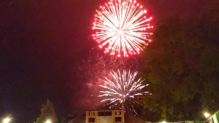 Busch Gardens Williamsburg fireworks. See them all summer during special event