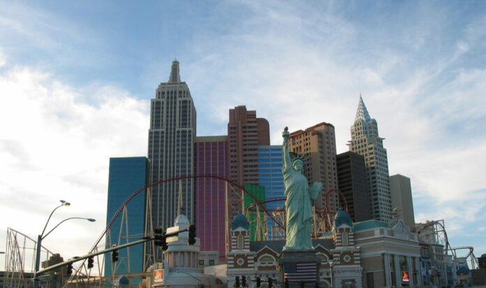 Discounted ticket for the Big Apple Coaster at New York-New York Hotel on the Las Vegas Strip