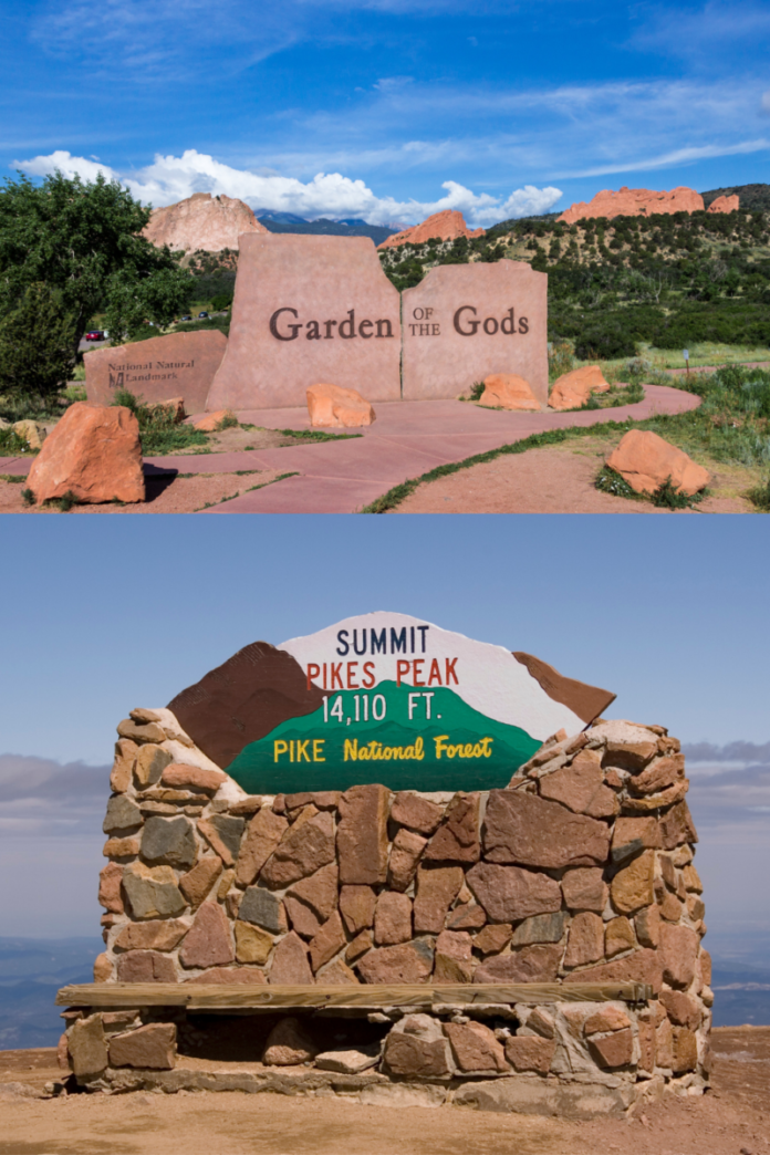 Discounted price for adventure tour out of Denver, Colorado see Pikes Peak, Garden of the Gods, visit mineral springs