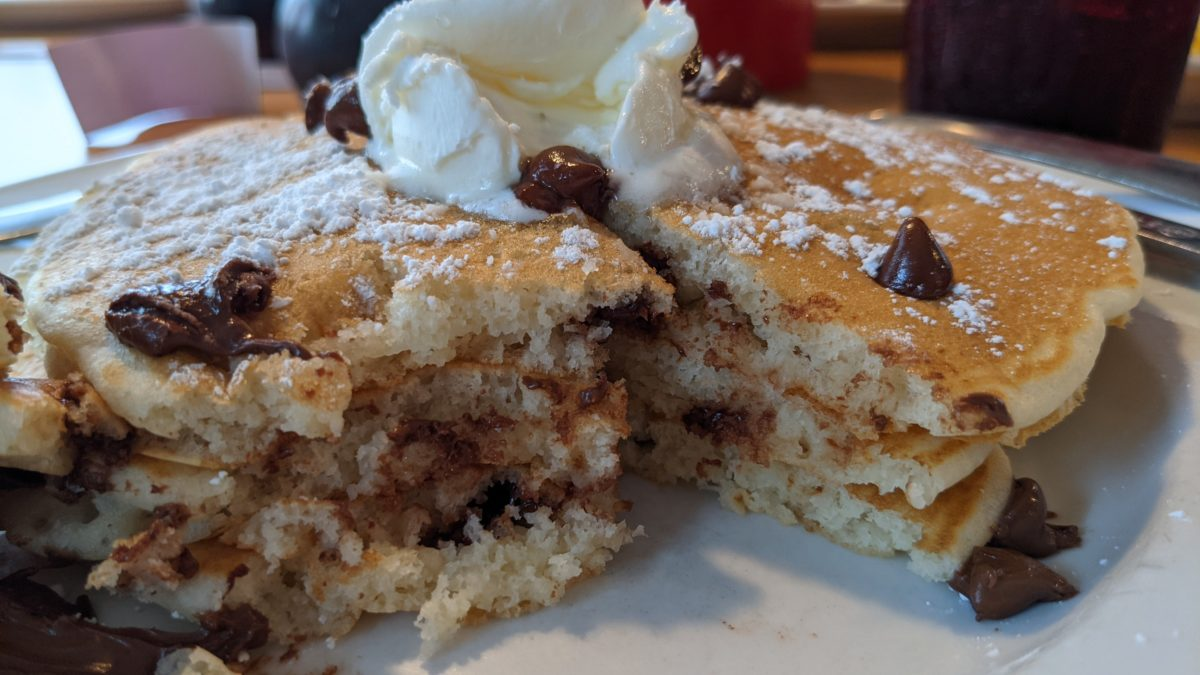 A review of the pancakes available at the Smokey Griddle Pancake House in Williamsburg