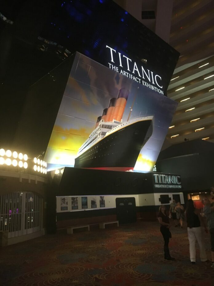 Discounted admission to the Titanic Exhibit on the Las Vegas Strip
