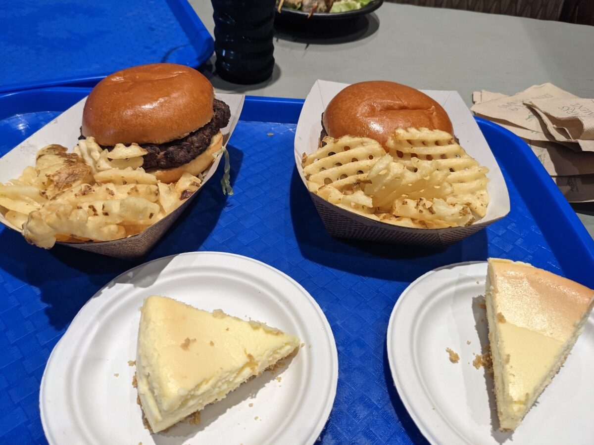 Lakeside Grill is a Mediterranean inspired restaurant at SeaWorld Orlando that still has standard menu items like burgers and fries