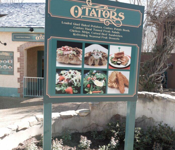 O'Tators Irish Restaurant at Busch Gardens Williamsburg