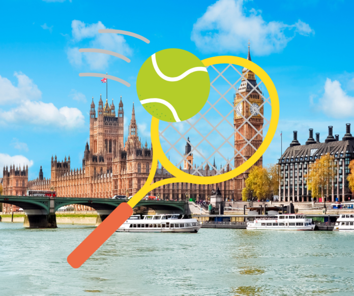 Enter Sipsmith - Wimbledon 2021 Sweepstakes for a free vacation in London, England