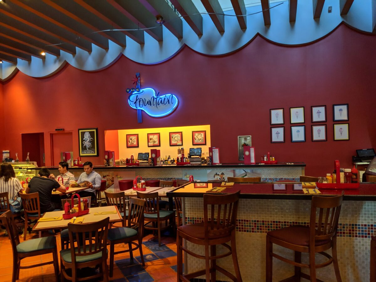 The Fountain is a great family-friendly restaurant at the Walt Disney World Resort near Epcot & Hollywood Studios in Orlando, FL