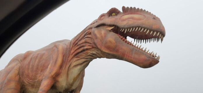 Cheap ticket to Jurassic Quest Drive Thru at Rose Bowl in Pasadena, California