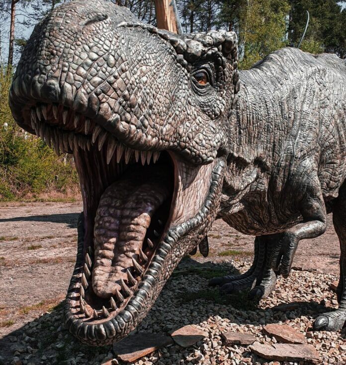 Jurassic Quest drive-thru with life-sized realistic dinosaurs in Connecticut discount ticket