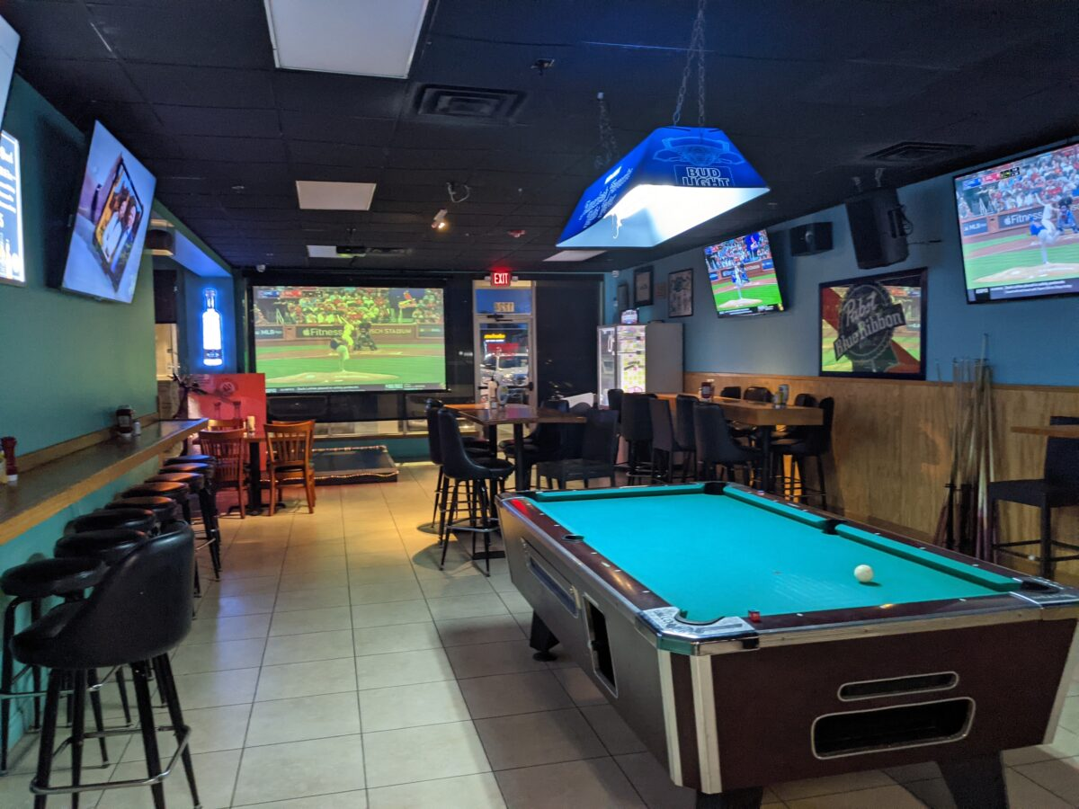 Watch baseball & other sports or play pool while you're not eating or drinking at Monkey's Uncle Tavern in Jacksonville