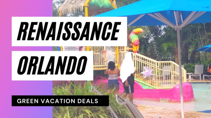 Video of Renaissance Orlando hotel across the street from SeaWorld & near Disney World & Universal Studios
