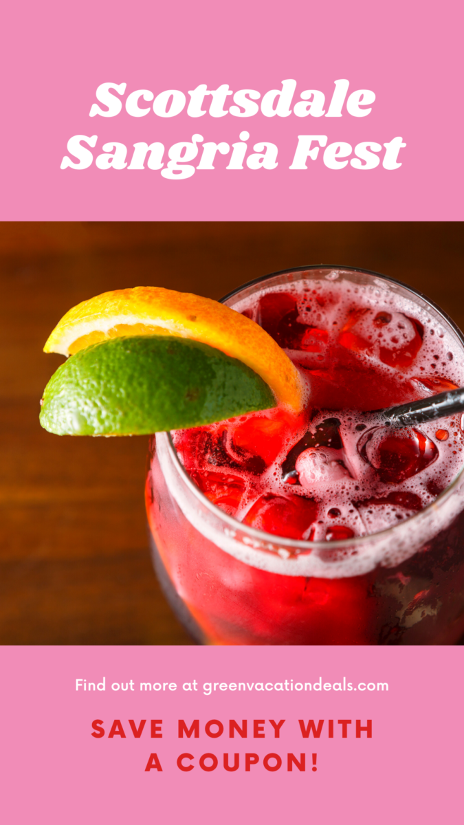 Discount ticket to Sangria Festival at Wasted Gran in Old Town in Scottsdale, Arizona