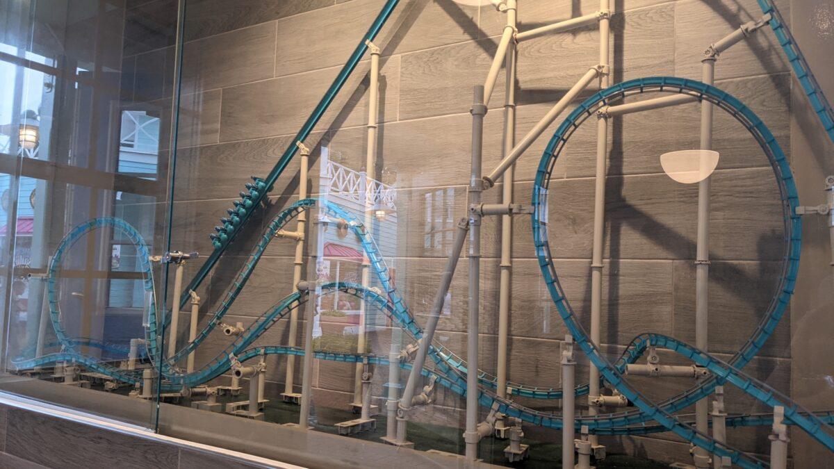 SeaWorld's Coaster Coffee Co. has a fun roller coaster theme