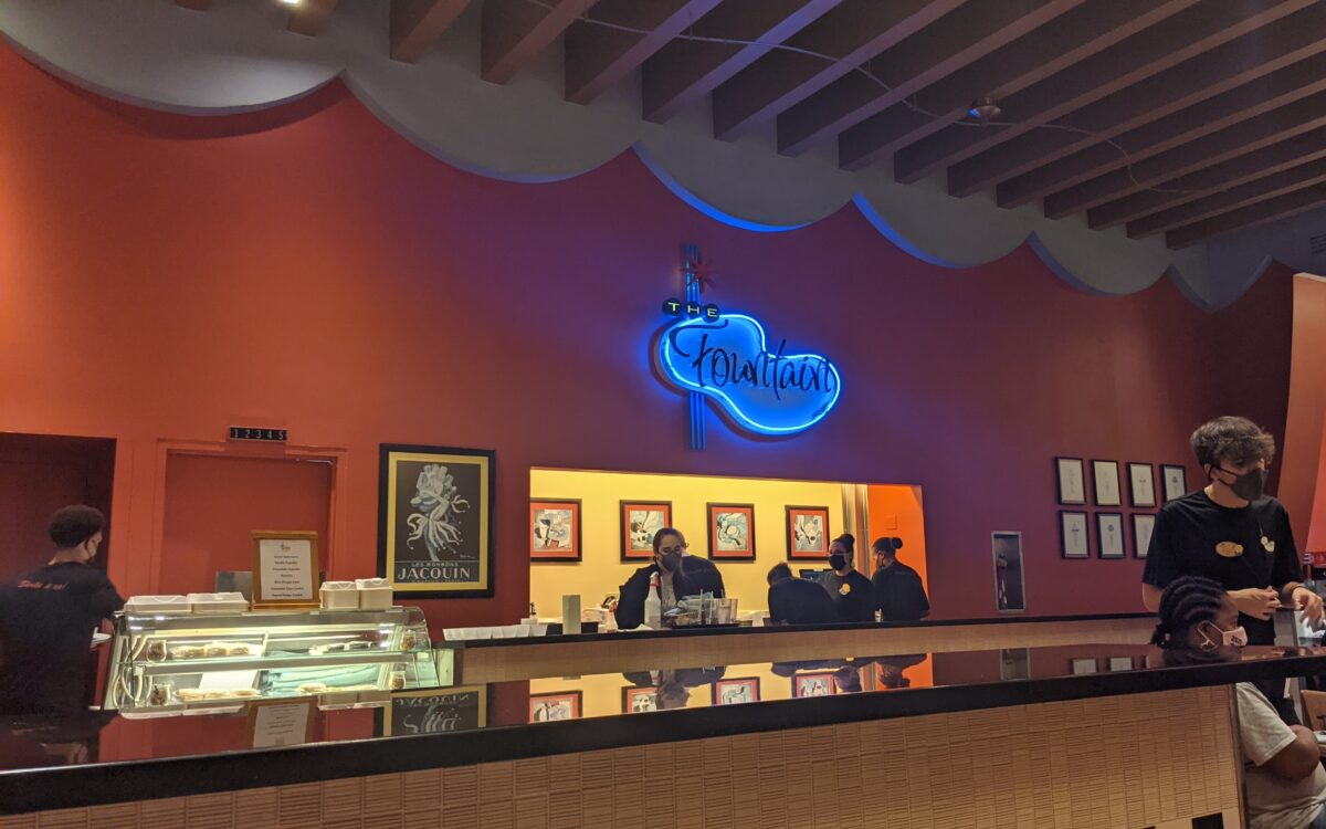A picture of the Fountain restaurant at the Walt Disney World Resort in Orlando, Florida