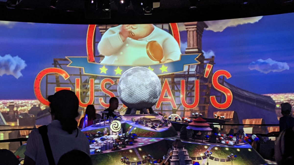 See a preview for the new Ratatouille ride at the France Pavilion at Epcot in Disney World
