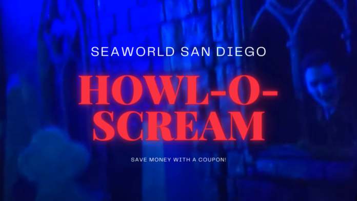 Discounted ticket & Unlimited ticket at SeaWorld San Diego Howl-o-Scream Halloween event