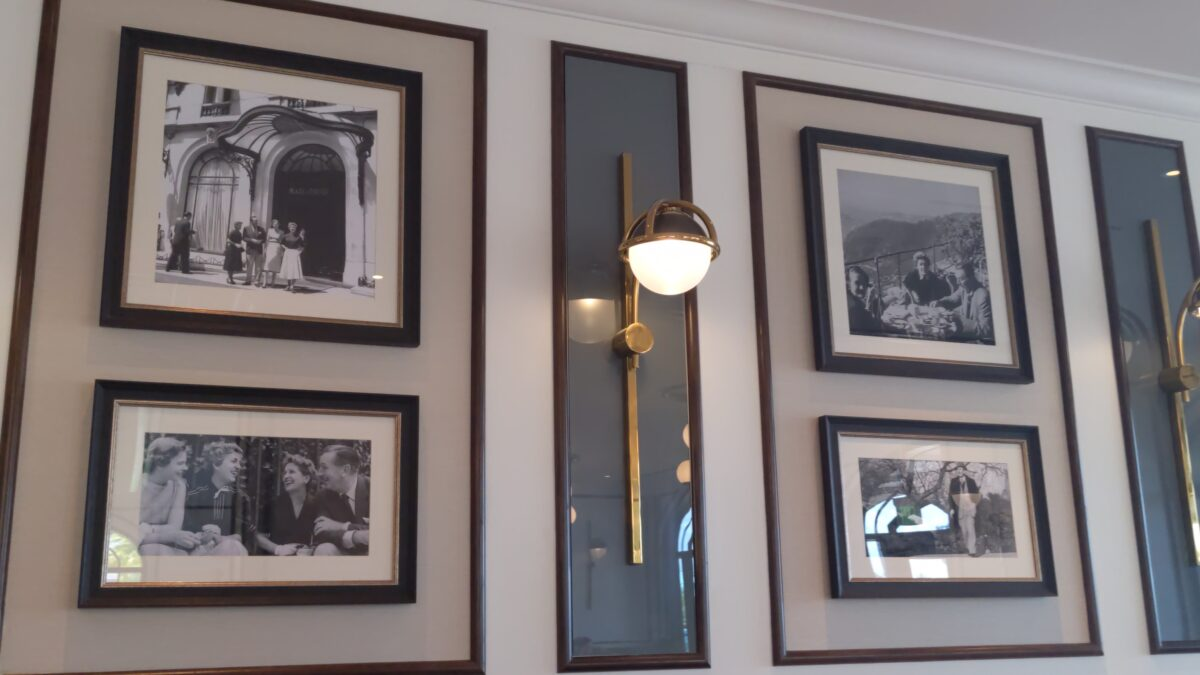 Look at pictures of Walt Disney in Europe as you eat French & Italian food at Primo Piatto in Walt Disney World in Orlando, FL